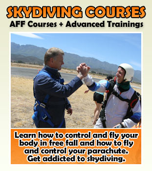 Skydiving Course Cape Town
